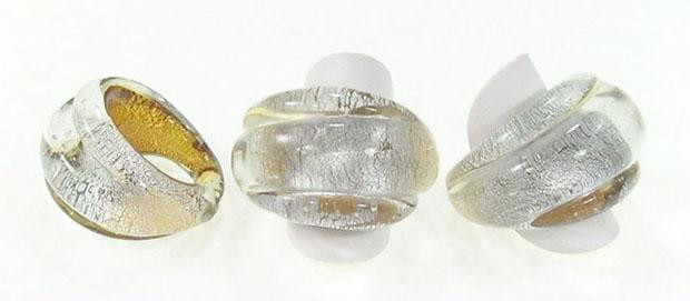 Splendidi anelli di vetro